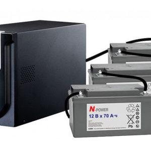 Блоки безперебійного живлення для котла + акумулятори
